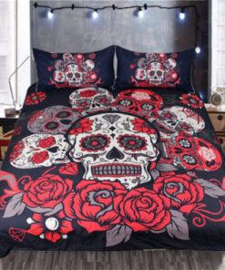 kosturska glava sa ruzom posteljina dekoracija za vasu sobu upazi shop upazi.rs