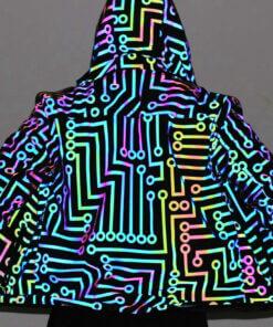 Reflektivna tanja unisex jakna sa kul dizajnom ,bicete uvek u centru paznje upazi upazi.rs upazishop povoljno duks jakna jakne dukserice duksevi majce stampa stampe