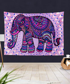 Slon zidna zastava za slikanje i snimanje slika upazi.com
