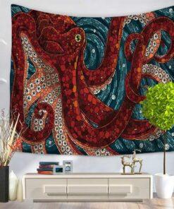 hobotnica zidna dekoracija zastava za slikanje upazi