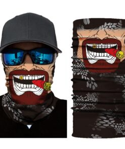 Biker tompus cigar Maske za lice upazi