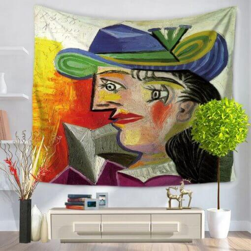 art van gogh crtanje zidnih zastava dekoracije snimanje slikanje upazi