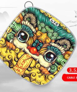 Cable for Android / Iphone Type-C Standard mobile phones as Pendant INK Style