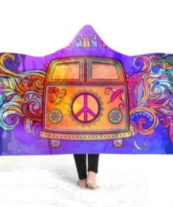 Pokrivac za zimu sa kapuljacom trippy Art upazi shop moda fashion psycho trippy