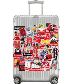 Stikeri za putovanje ,laptop , zid i razno 100 komada