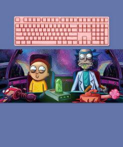 RGB osvetljenje svetla gaming podloga za mis i tastaturu slusalice