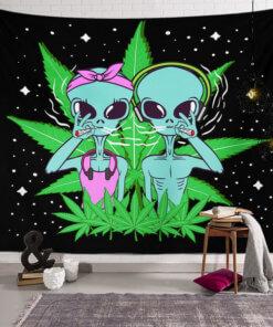 astronaut vanzemaljac alience art hit trippy trava upazi shop upazi.rs online beograd srbija